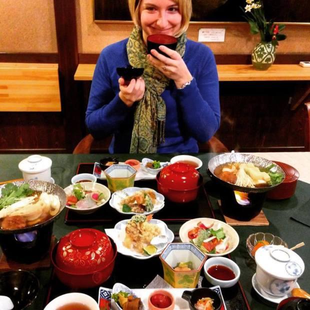 senju-in meal
