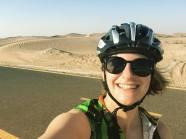 Al Qudra bicycle path