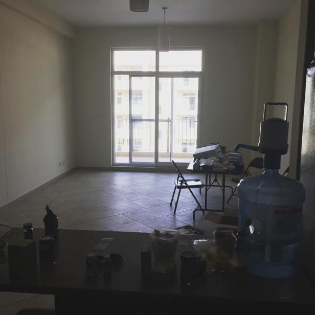 Our empty apartment