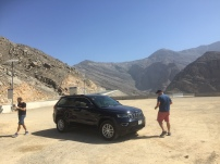 Rest stop in Jebel Jais