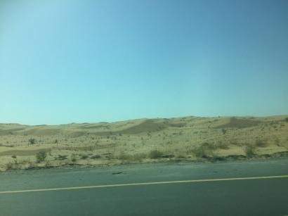 The drive to Ras Al Khaimah